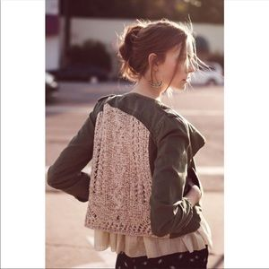 Daughters Of The Liberation Crochet Utility Jacket